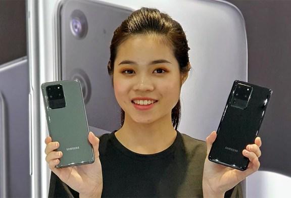 Samsung Galaxy S20 Ultra Colour Comparison!