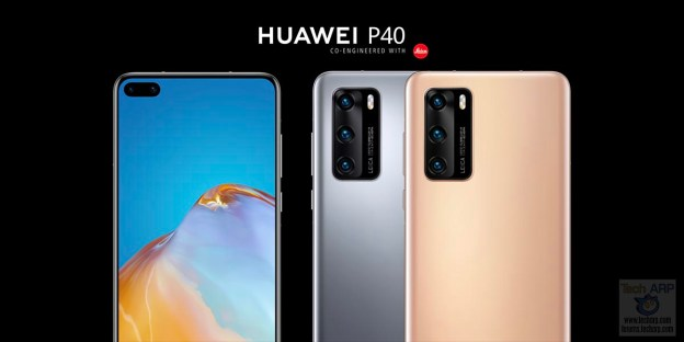 HUAWEI P40 : Key Features, Price + Availability!