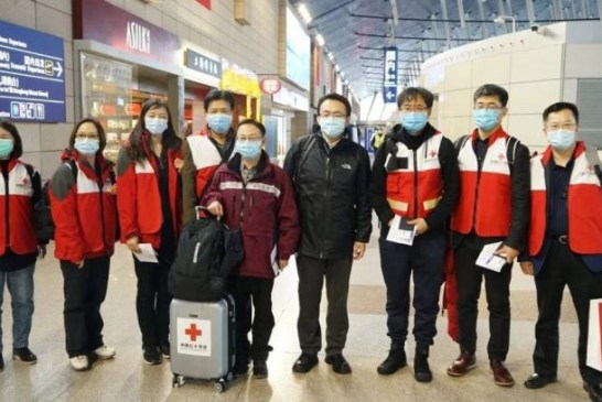 China medical team in Italy 02