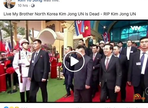 Kim Jong Un Death Hoax 01