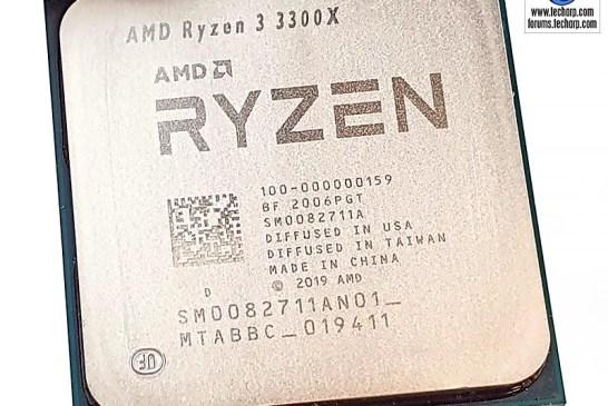 AMD Ryzen 3 3300X top