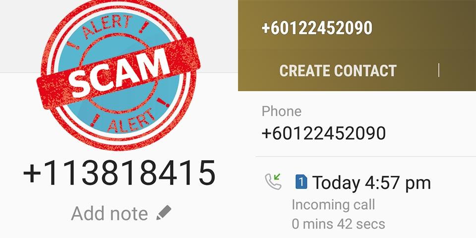 CIMB scam calls 01