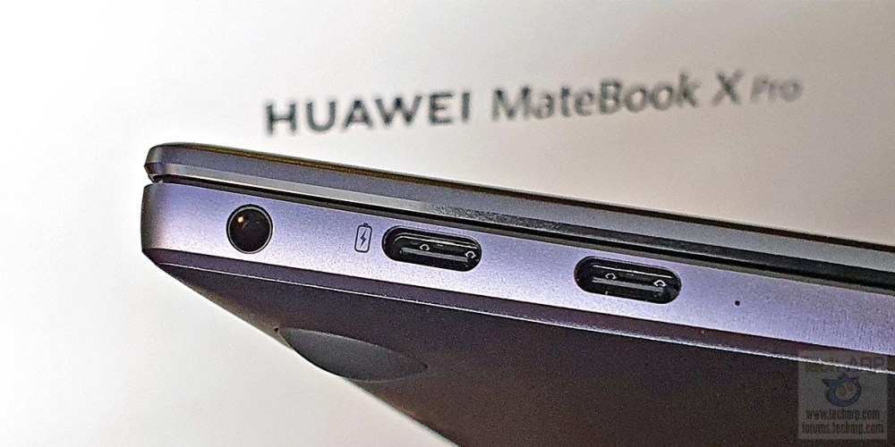 HUAWEI MateBook X Pro left side