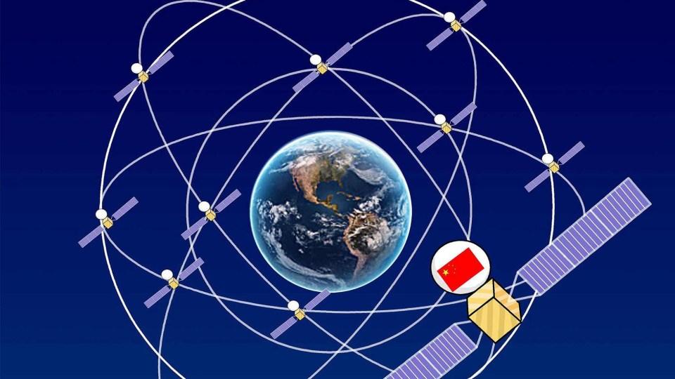 BeiDou satellite network