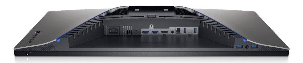 Dell S2721DGF gaming monitor ports