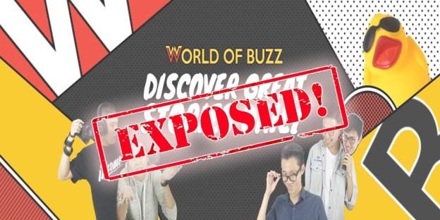 World of Buzz : Stop Feeding Content Regurgitation Websites!