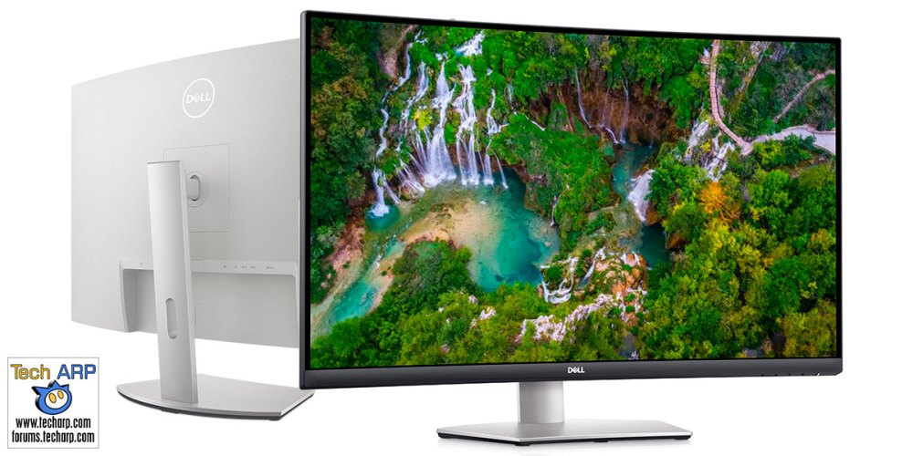 31.5-inch Dell S3221QS : Curved 4K UHD Multimedia Monitor!