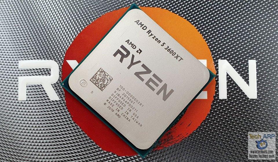 AMD Ryzen 5 3600XT top
