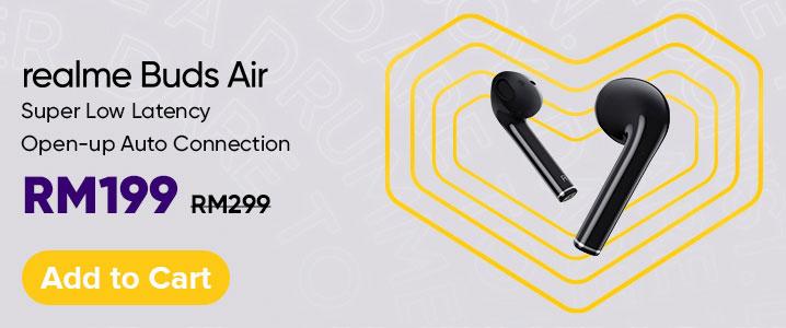 Realme Buds Air August 2020 sale