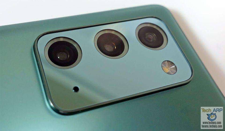 Samsung Galaxy Note 20 rear cameras