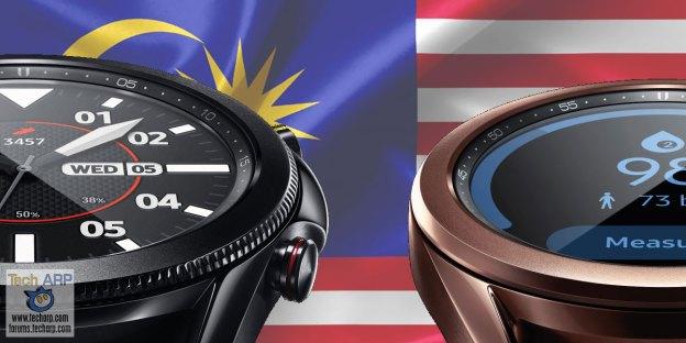 Samsung Galaxy Watch 3 : Malaysia Price + Pre-Order Deal!