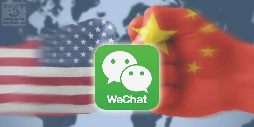 Donald Trump : WeChat + Tencent Holdings Banned!