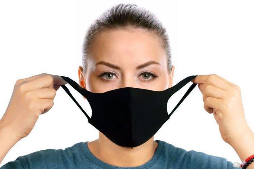 Wearing Pitta Face Mask