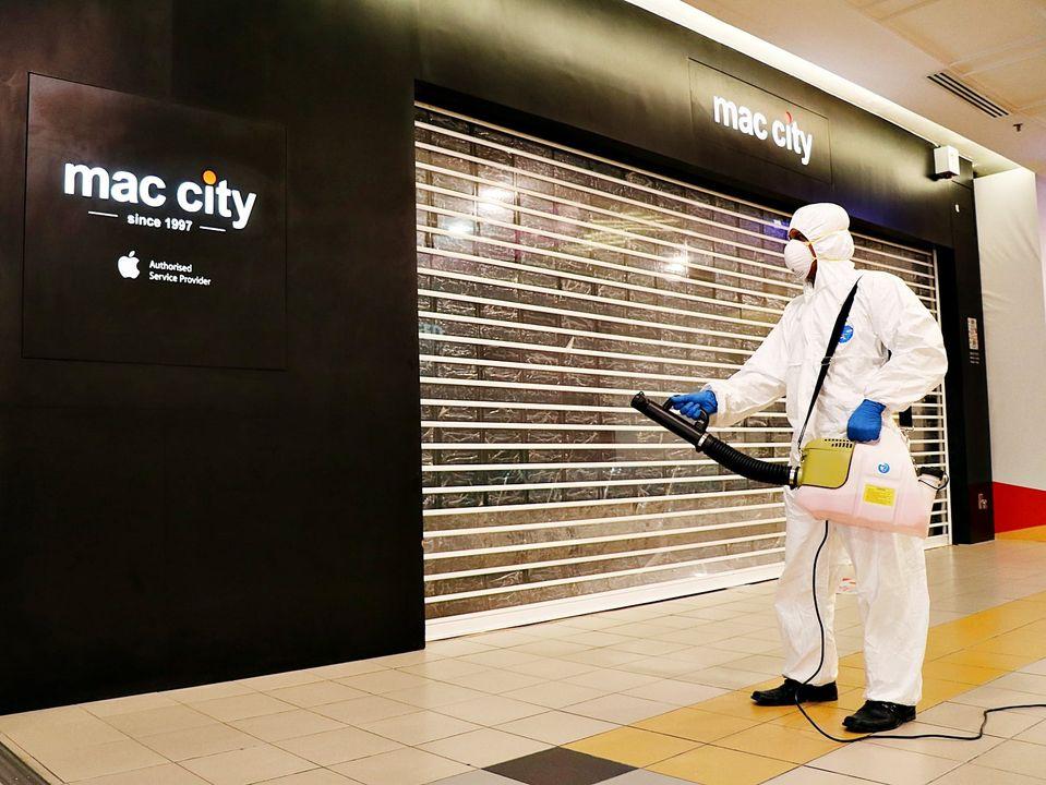 1 Utama Mac City Shut Down After COVID-19 Infection!