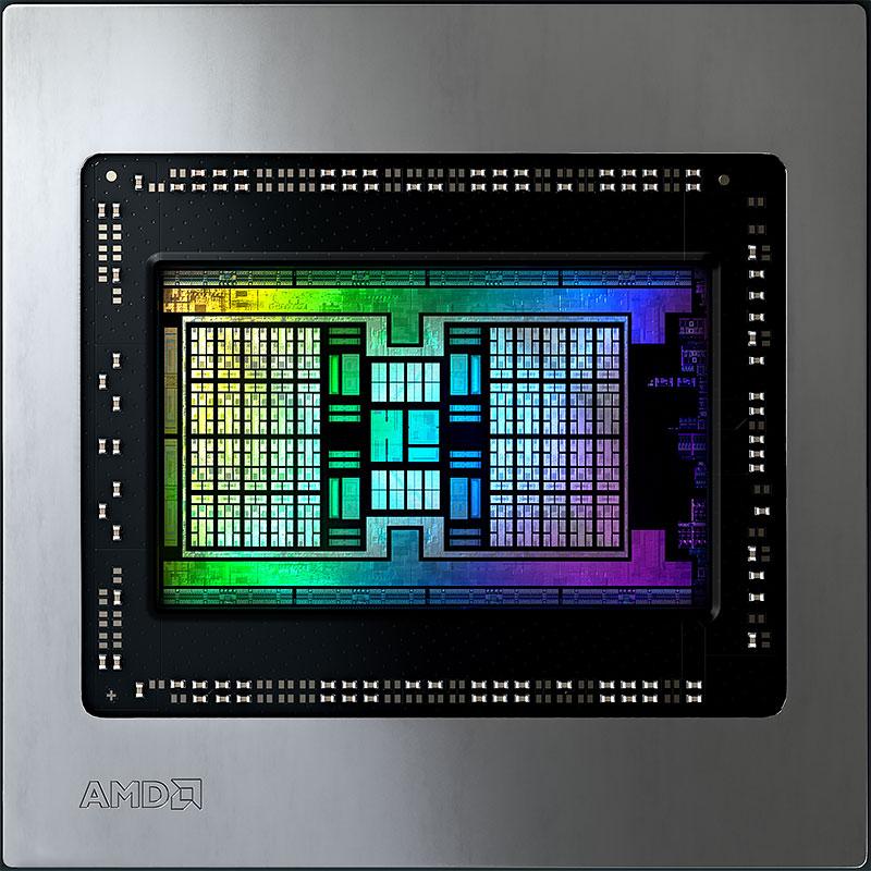 AMD Big Navi die shot