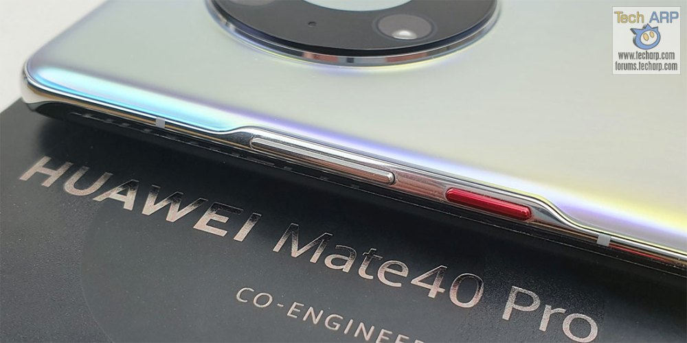 HUAWEI Mate 40 Pro Silver buttons