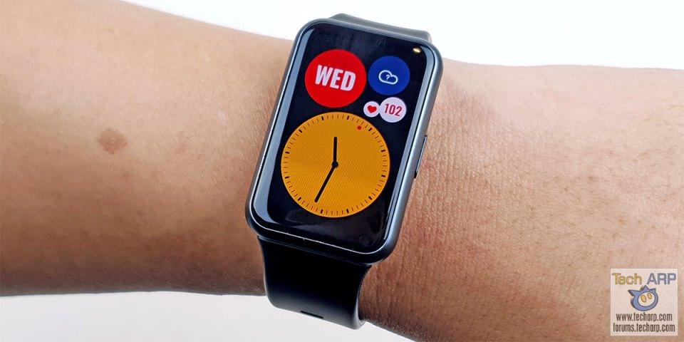 HUAWEI Watch Fit Smartwatch Review
