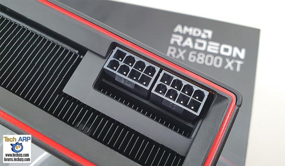 AMD Radeon RX 6800 XT PCI Express power