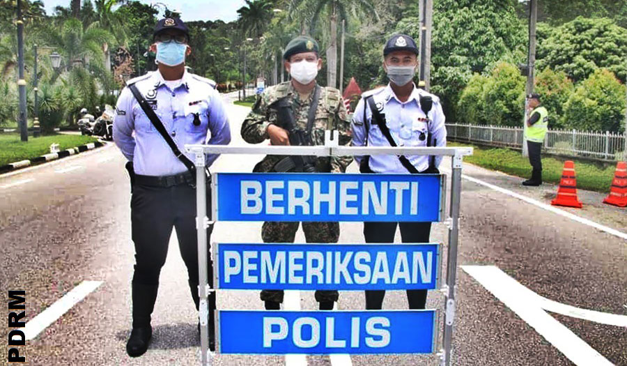 PDRM CMCO Cross State Permission