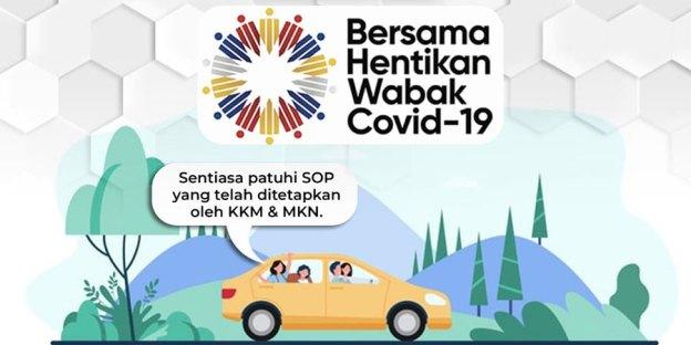Nationwide Travel At Vehicle Capacity : Please Follow SOP!