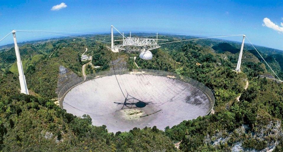 Arecibo Telescope in better days