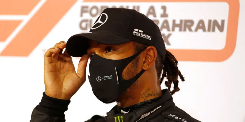 Lewis Hamilton : Positive For COVID-19, Out Of Sakhir GP!