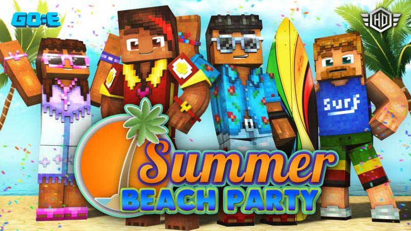 Minecraft free skins - Summer Beach Party