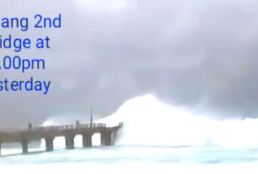 Fact Check : Tsunami Waves Hit Second Penang Bridge?
