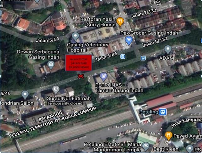 Here Are The MCO Roadblock Locations In Petaling Jaya!