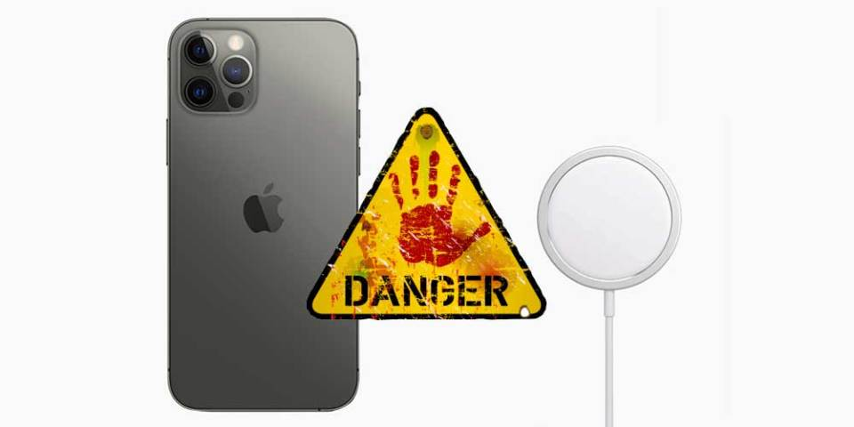 Keep Your iPhone + MagSafe Away From Medical Devices!