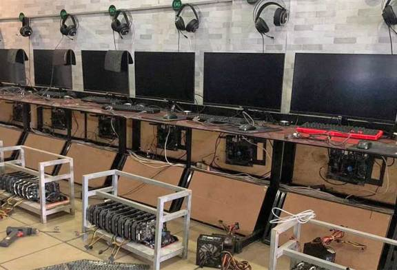 Cybercafe Converts RTX 3080 PCs Into Cryptomining Rigs!
