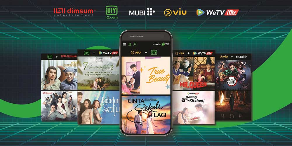 Maxis TV Is Here, Offering OTT Streaming Bundles!