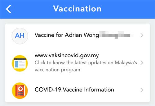 How To Register For COVID-19 Vaccination On MySejahtera!