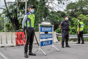 Travel Restriction : Pahang, Kelantan, Terengganu District List