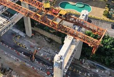 SUKE Highway Crane + Beam Collapse Kills 3, Injures 1!