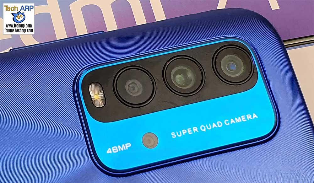 Xiaomi Redmi 9T rear cameras