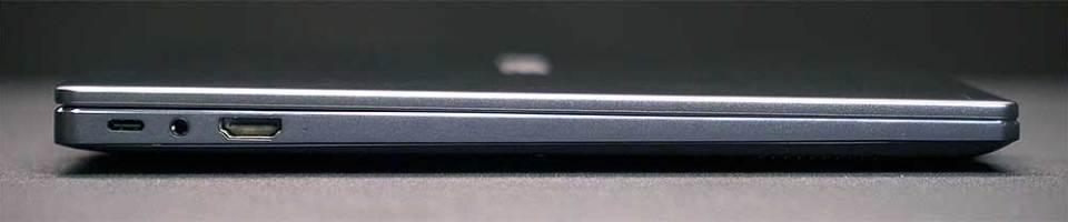 2021 HUAWEI MateBook 14 laptop left side
