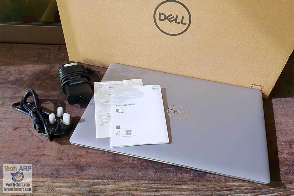 Dell Latitude 5520 box contents
