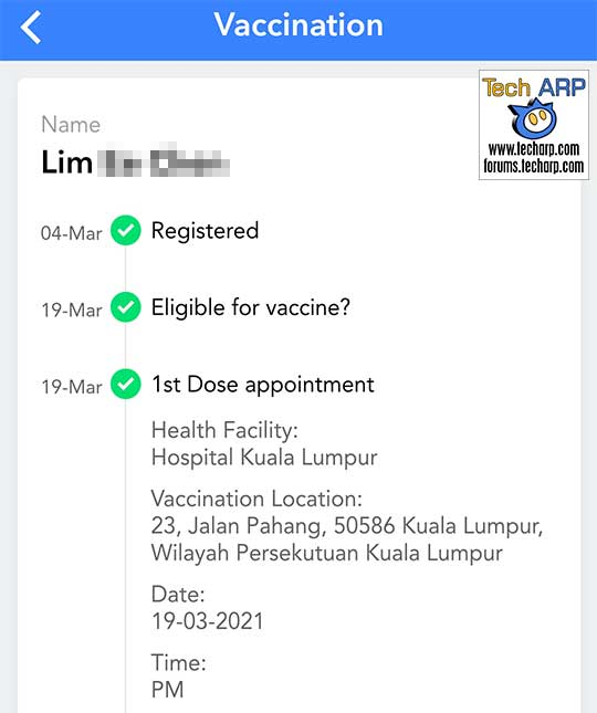 COVID-19 Vaccination Appointment : 48 Hours To Confirm!