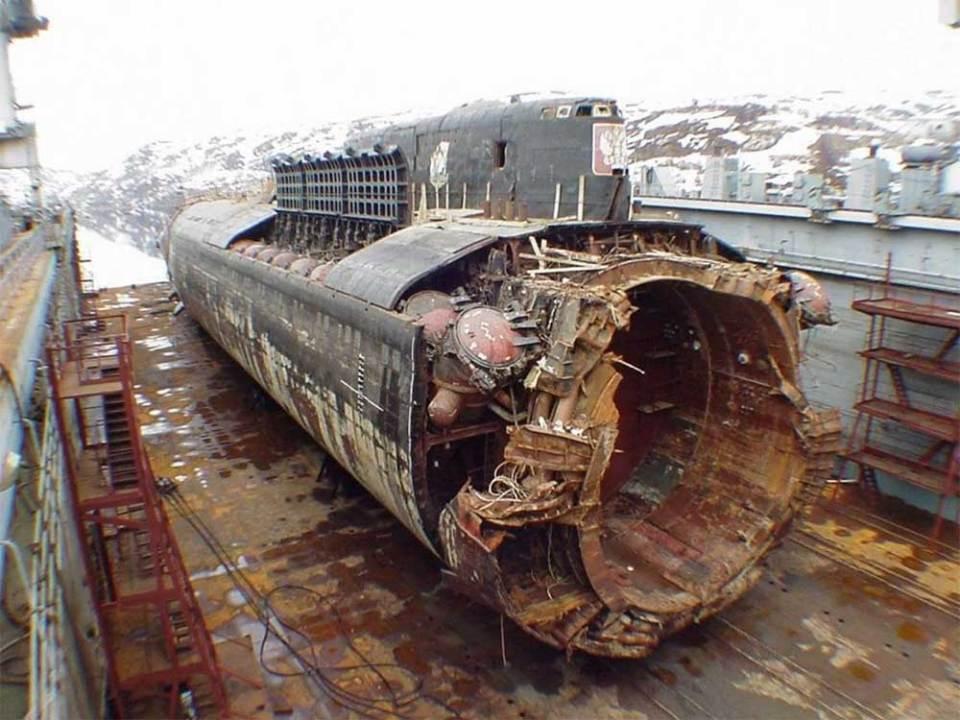 K-141 Kursk submarine wreck