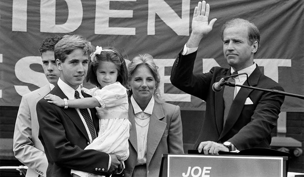Senator Joe Biden 1970s