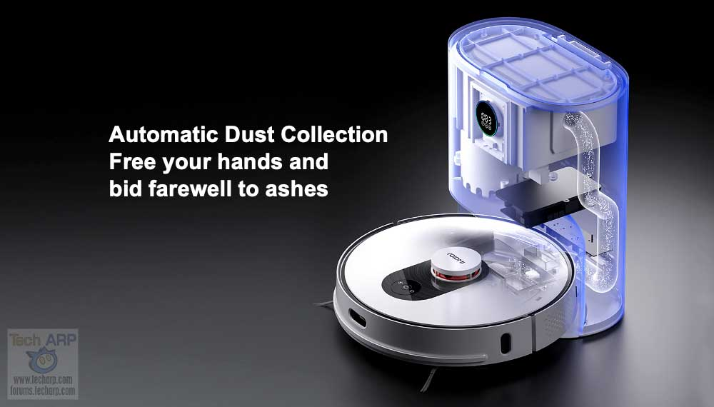 Xiaomi ROIDMI Eve Plus Automatic Dust Collection