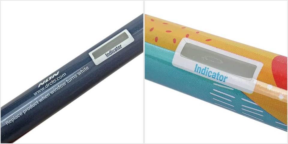 Dr Clo cartridge indicator