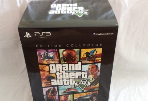 GTA V collector unboxing