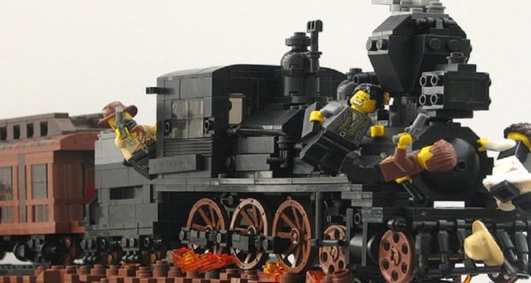 TAG - Un pont sur le train !
