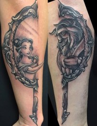 Leon Rice geek best of tattoo belle bete disney