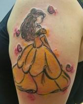 Jessi Lee geek best of tattoo belle bete disney