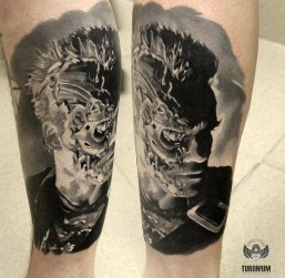Alexander Slobodyan best of tattoo geek terminator