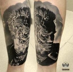 Alexander Slobodyan best of tattoo geek terminator