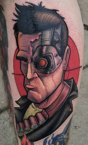 Thom Bulman best of tattoo geek terminator